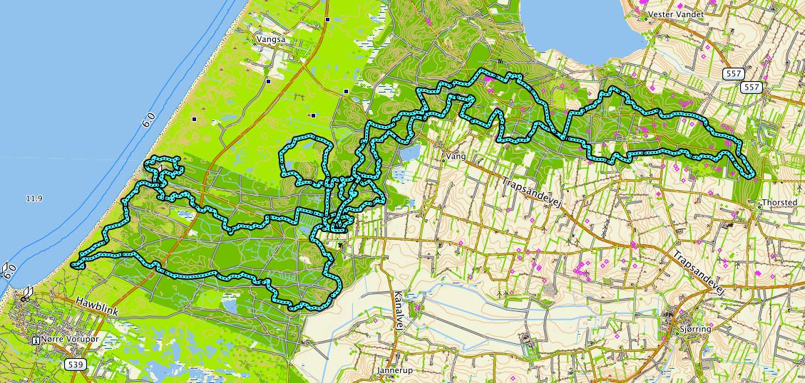 I år fik jeg mig endelig tilmeldt til 50 km orienteringsløb – En rundtur i Nationalpark Thy. Jeg kan lide at løbe orienteringsløb og jeg kan lide at løbe lange […]