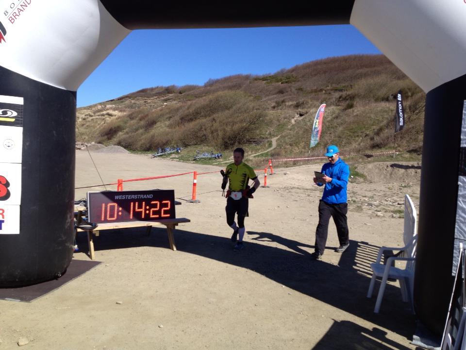I mål på Hammer Trail 2013